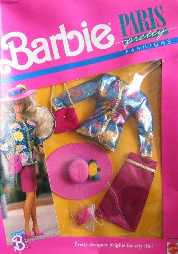 - Barbie Doll Paris Pretty Fashions Clothing Set #6558 From 1989