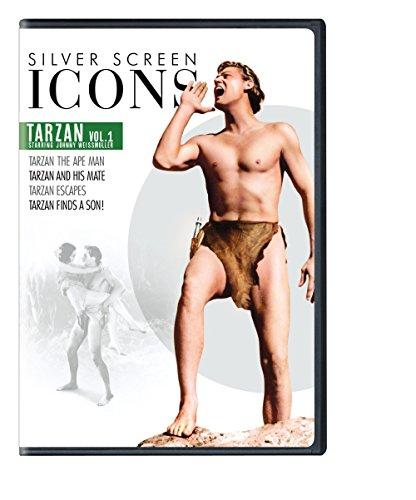 (Silver Screen Icons: Johnny Weissmuller as Tarzan, Volume 1 (4FE))
