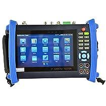 Hitosino CCTV Security Tester Monitor IPC SDI TDR POM Multi-function 7