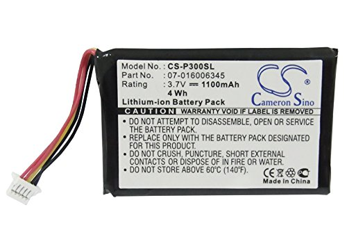 Cameron Sino Li-ion 3.70V 1100mAh PDA Replacement Battery Compatible With NEC/Packard Bell 07-016006345, Fits NEC MobilePro P300, Packard Bell PocketGear 2030