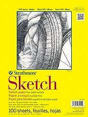 Strathmore 350-9 Block Sketch 9X12 plg