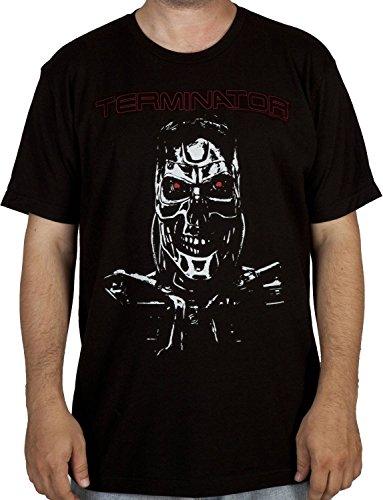 (Endoskeleton Terminator Cyborg Shirt)