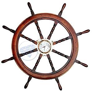 519CBI%2BgroL._SS300_ Coastal Wall Clocks & Beach Wall Clocks