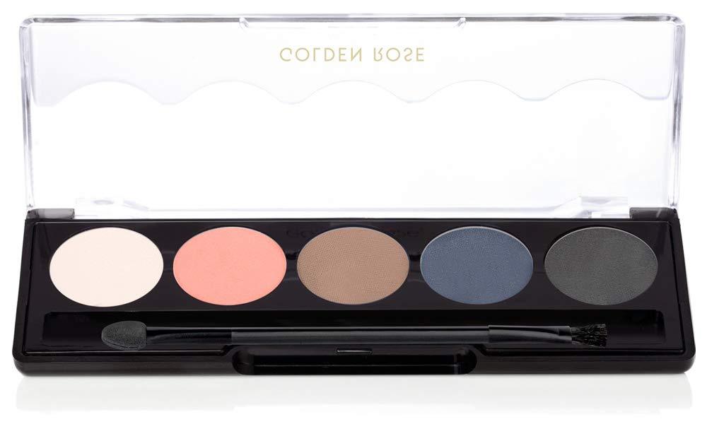 Golden Rose Matte Eyeshadow Palette 112-Stormy