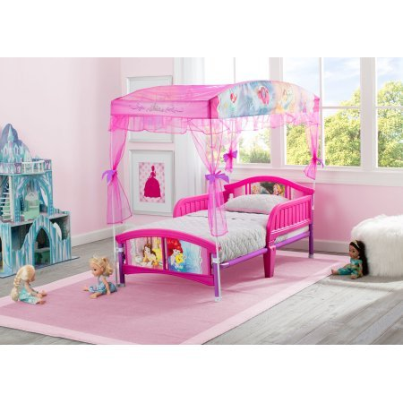 Baby Relax,Disney Princess,Toddler Bed,Multi Pink