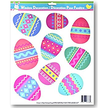 Easter Window Clings (Easter Eggs)