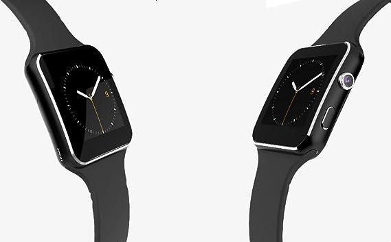 Bluetooth Smart reloj 2016 Nueva Bluetooth inteligente reloj X6 Smartwatch Reloj Deportivo Para Apple iPhone teléfono