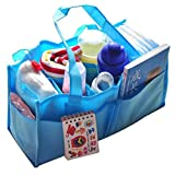 Diaper Tote Bags, Pocciol New Mummy Bottle Storage Convenient Multifunctional Separate Nappy Maternity Bag for Outgoing (B)