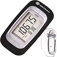 C3D Pedometer for Walking   Track Steps & Miles, Calories & Activity Time. Clip on Step Counter for Wo