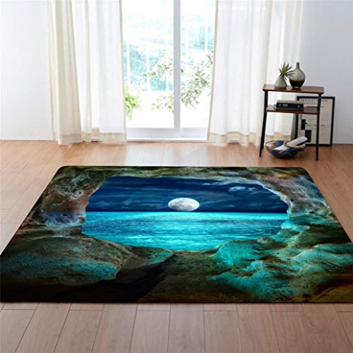 - European and American Decoration Big Carpets Living Room Area Rug Soft Flannel Boys Room Gift Carpet Mats Rugs