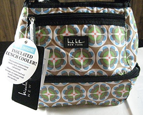 nicole-miller-of-new-york-insulated-lunch-cooler-circle-flower-tan-10-lunch-tote