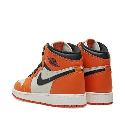 Nike 575441-113, Zapatillas de Baloncesto para Niños Blanco (Sail / Black Starfish)