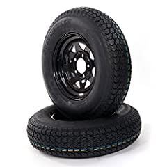 New premium rubber cap ply Million Parts 6PR ST175/80D13 Black Spoke Trailer Wheel with Bias. All of our tires are brand new, with first quality and have never been mounted. Our tires are perfect for both short and long trips. We offer a rang...