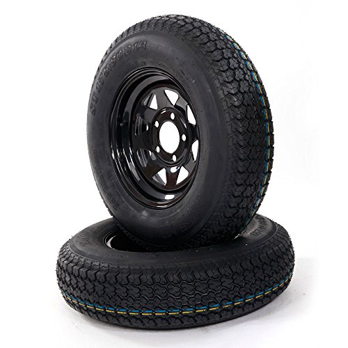 Bolt Black Wheel - MILLION PARTS 2pcs 13