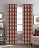 Cheap Colordrift SpotOn 54 x 84 Inches Curtain with Grommet Finish – Spice