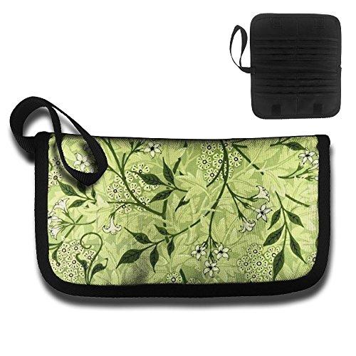 OjFYoubK195 NEW Multifunctional Green Petunia Rattan Waterproof 600D Plain Oxford Cloth Passport Holder Travel Card Storage Bag! (Rattan Bank)