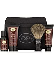 The Art of Shaving 4 Piece Starter Kit with Bag, Sandalwood