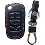 RPKEY Leather Keyless Entry Remote Control Key Fob Cover Case protector For Buick Enclave LaCrosse Regal Verano Chevrolet Camaro Cruze Equinox Impala Malibu Sonic GMC Terrain OHT01060512 13504200