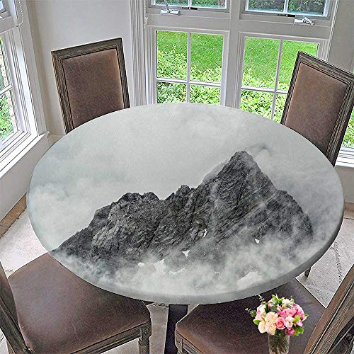 Chateau Easy-Care Cloth Tablecloth Jade Dragon Snow Mountain lijiang City yunnan China for Home, Party, Wedding 63