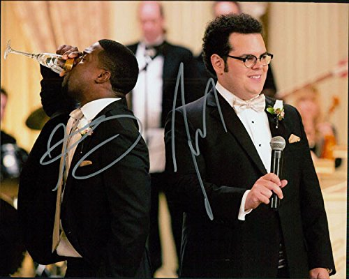 Signed Wedding Ringer, The (Josh Gad / Kevin Heart) 8x10 Photo By Josh Gad and Kevin Heart autographed