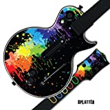 #10: MightySkins Skin For GUITAR HERO GUITAR HERO - Splatter | Protective, Durable, and Unique Vinyl Decal wrap cover | Easy To Apply, Remove, and Change Styles | Made in the USA