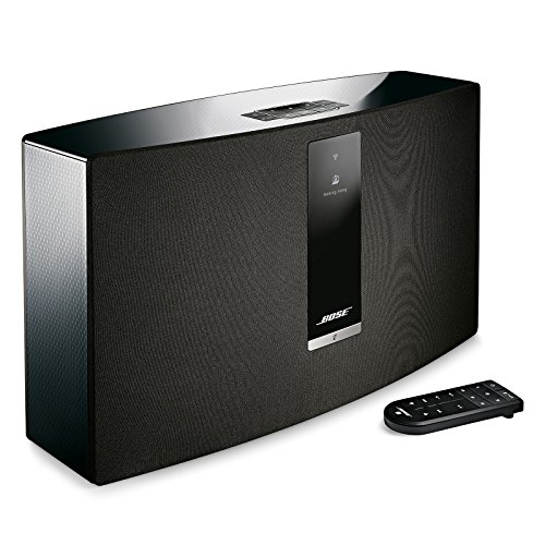 Bose SoundTouch 30 wireless speaker, works with Alexa, Black - 738102-1100 (Home System Speaker Boss)
