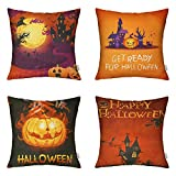 4 Packs 18 X 18 Inch Hippih Throw Pillow Covers for Your Comfortable Home The happiest moment is lying on the sofa or bed with your comfortable pillow. We are pursuing for your ultimate happiness index.No matter how mood drifting, there are a...