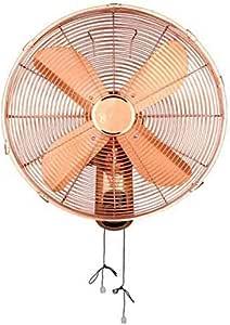 Sunny 12 Pulgadas Ventilador montado en la Pared Ventilador Antiguo de Pared 3 Velocidades Ajustable, Tipo de cordón/Control Remoto: Amazon.es: Hogar