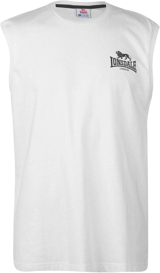Lonsdale Hombre Sleeveless Camiseta Sin Mangas: Amazon.es: Ropa y accesorios
