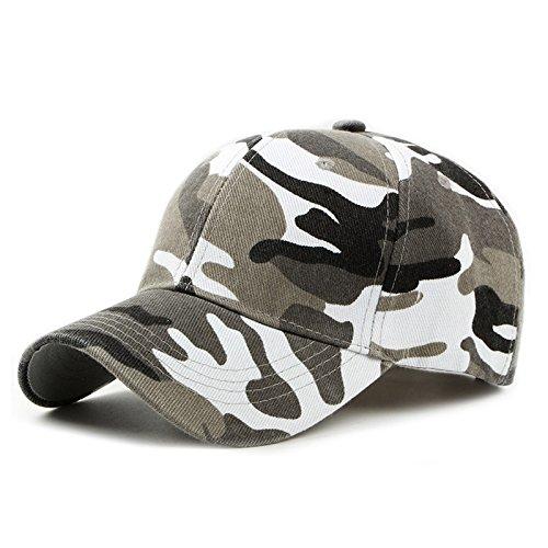SLGJ Camo Gorra de béisbol hombres tácticas de camuflaje Cap Hat Snapback para hombres de alta calidad Masculino ósea Papá Hat Camionero
