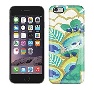 High Quality E-Lineage PEACOCK Art NO.95 Skin Case Cover Specially Designed For Iphone - 6 Plus