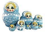 Best Winterworm Dolls - Winterworm Set of 10 Cutie Lovely Powder Blue Review