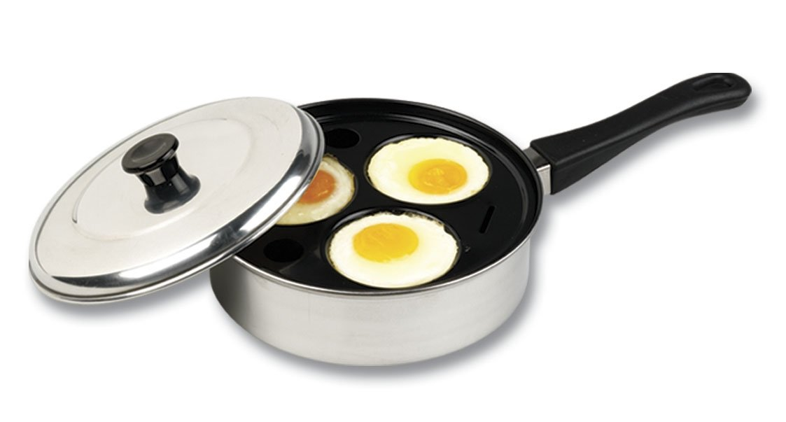 Better Houseware 441/3 Non-Stick 3-Cup Egg Poacher