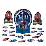 """2019 Super Bowl LIII 53 Football Party Table Decor Kit 23pc 12"""" Decoration Pack"""