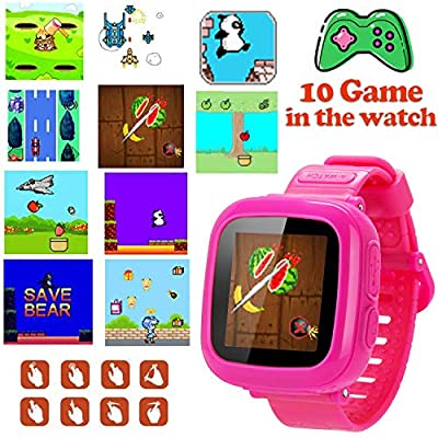 GBD Game Smart Watch for Kids Girls Boys Toddlers Holiday Birthday Gifts Wrist Digital Watch with Pedometer 1.5