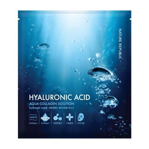 Nature Republic HYALURONIC ACID Aqua Collagen Solution HYDRO