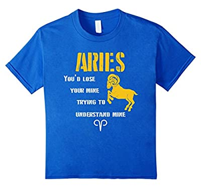 Funny Aries Shirt - Gifts For Aries Man And Woman T-Shirt