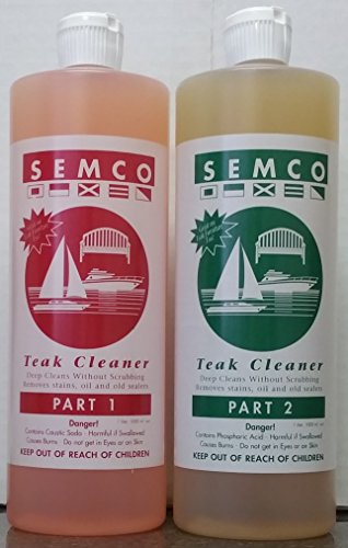 Semco Teak 2 Two Part Cleaner (Quart) (Semco Outdoor)