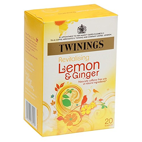 - Twinings Tea Lemon and Chinese Ginger Tea, 20 ct