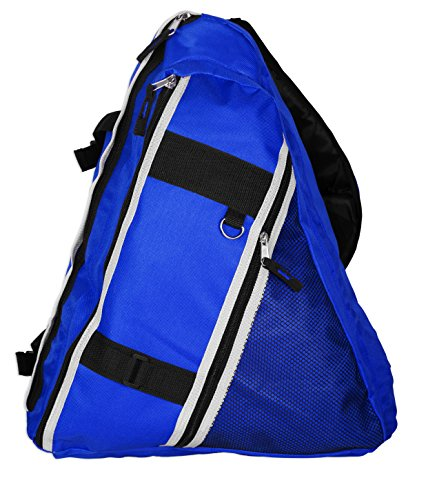 Basico Triangle Casual Daypack Backpack (Blue)
