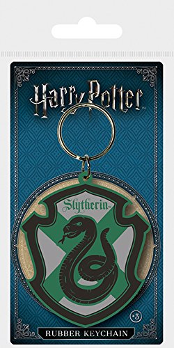 Key chain Harry Potter - Llavero de Goma Slytherin