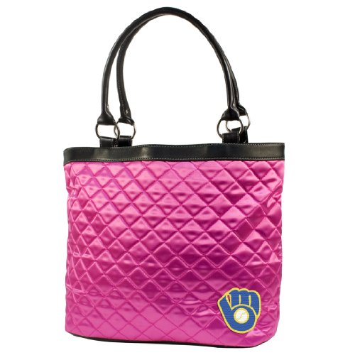 (MLB Milwaukee Brewers Quilted Tote)
