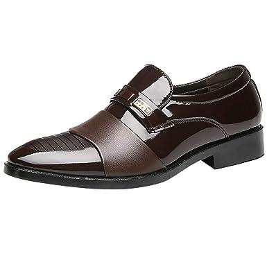 super popular 31d12 0743e Beikoard Herren Schuhe Business Schuhe Casual Männer Schuhe Leder Schuhe  Mode Hochzeit Schuhe Spitze Faule Schuhe