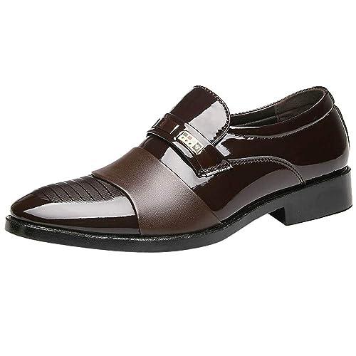 Zapatos Hombre Black Friday Casuales Invierno Zapatos de Hombre de Negocios Zapatos de Hombre Casuales Zapatos de Cuero Zapatos de Boda de Moda