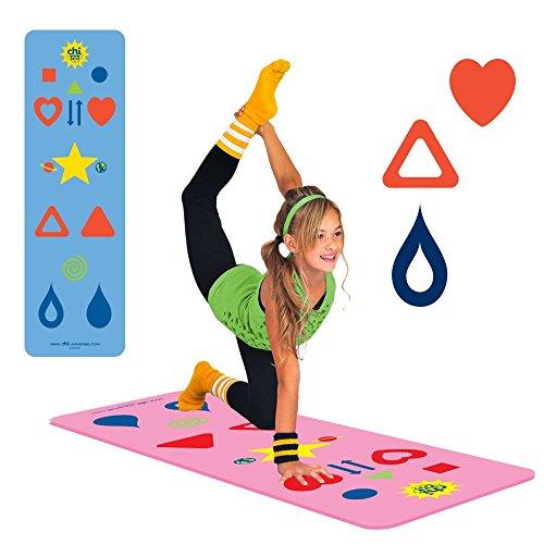 Chi Phresh Yoga Mat & Game (Pink, Kids)