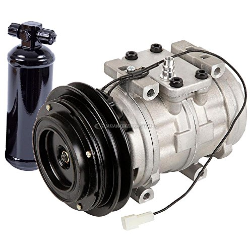 AC Compressor & Clutch With A/C Drier For Toyota Celica Cressida 4Runner Van - BuyAutoParts 60-88593R2 New