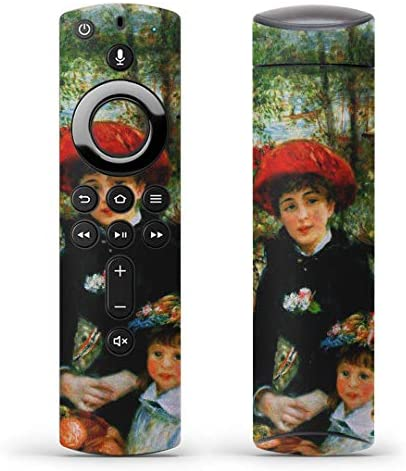 igsticker Fire TV Stick 第2世代 専用 リモコン用 全面 スキンシール フル 背面 側面 正面 ステッカー ケース 保護シール 003248 クール 写真・風景 外国 絵画 イラスト