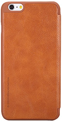 Nillkin iPhone 6 Qin Leather Case - Retail Packaging - Brown