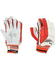 Puma, Cricket, Evo 5 Batting Gloves, Boys, Fiery Coral/White, Right Hand