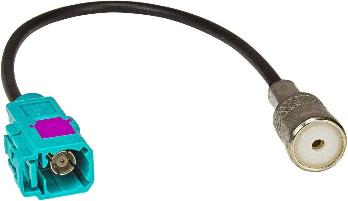 tomzz Audio 1500-014 Fakra (f) Adaptador de Antena Acoplamiento al Enchufe ISO (f)